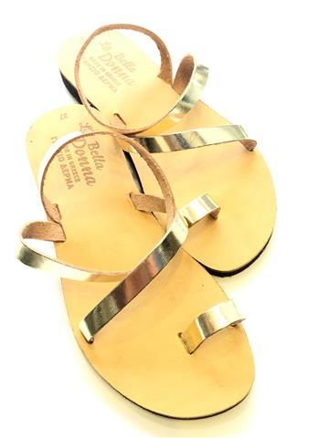 γυναικεια σανδαλια χρυσα